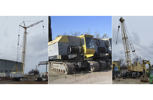 Аренда монтажных кранов МКГ на гусеничном ходу гп 25 - 40 тонн, фото — «Реклама Севастополя»