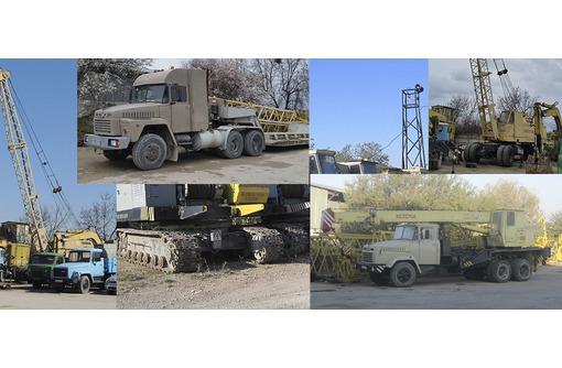 Аренда монтажных кранов МКГ на гусеничном ходу гп 25 - 40 тонн - Услуги в Севастополе