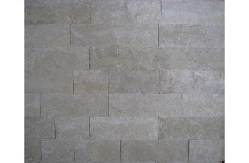 Плиты для фасада. Природный камень травертин, известняк. - Кирпичи, камни, блоки в Севастополе