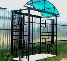 Домашняя дровница металлическая - Ландшафтный дизайн в Феодосии