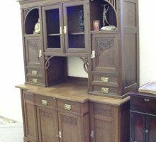 антикварный буфет модерн натуральное дерево - Антикварная мебель в Евпатории