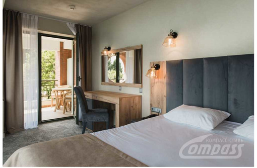 Оснащение гостиничных номеров мебелью класса Люкс. Мебель для гостиниц и отелей Крыма - Специальная мебель в Севастополе