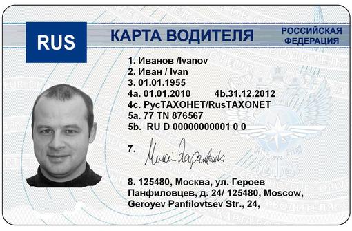 Услуги по оформлению карт водителя/предприятия, фото — «Реклама Алупки»