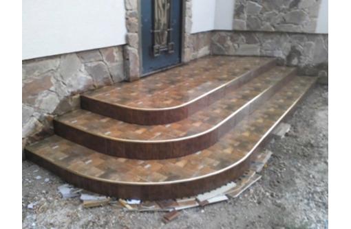 V  Облицовка плиткой ступеней, лестниц, площадок придомовой территории. - Лестницы в Севастополе