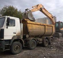 Вывоз мусора самосвалом, доставка сыпучих материалов - Вывоз мусора в Севастополе