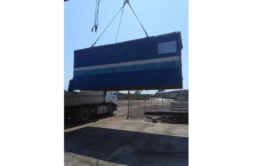 Погрузим и вывезем вашу бытовку, контейнер на ответственное хранение . - Строительные работы в Севастополе