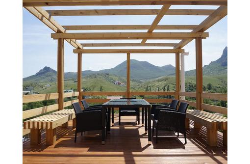 Новая мини гостиница с бассейном в Коктебеле - Дома в Феодосии