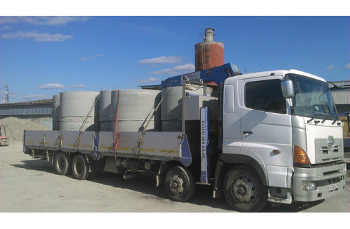 Бетонные крышки; днища, кольца кс-15.9 для канализации - ЖБИ в Севастополе