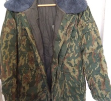 Зимняя куртка камуфляж х/б с войлочной подстёжкой - Мужская одежда в Крыму