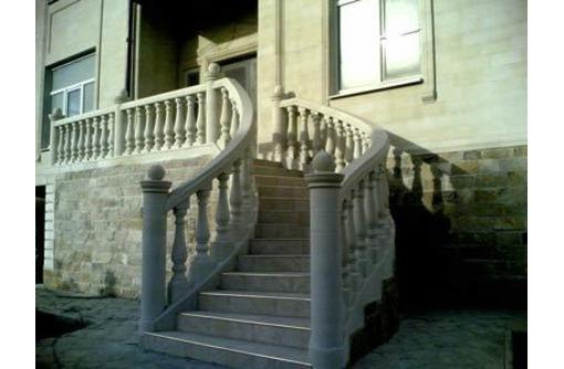 Травертин облицовочный. Фасады, лестницы, ступени. полы. - Лестницы в Севастополе