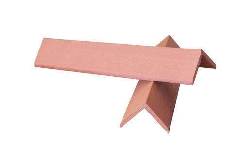 Уголок торцевой для террасной доски Терракот  135 руб./пог. м. Бесплатная доставка по Крыму - Металлы, металлопрокат в Саках