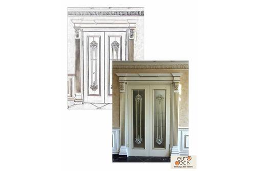 Двери из массива. Межкомнатная дверь 00101. Столярные изделия. Бесплатная доставка по Крыму - Межкомнатные двери, перегородки в Саках