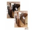 Лестница из массива. Столярные изделия. Деревянные лестницы на заказ. Бесплатная доставка по Крыму - Лестницы в Саках