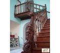 Лестница на второй этаж. Столярные изделия. Деревянные лестницы на заказ. Бесплатная доставка по РК - Лестницы в Евпатории