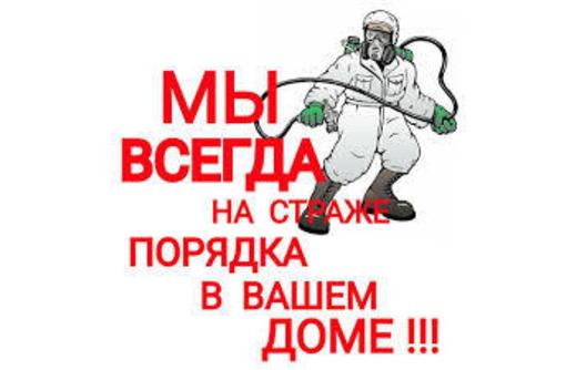 Дезинфекция, Дератизация, Дезинсекция. Уничтожение насекомых, грызунов, микроорганизмов. Дезинфектор, фото — «Реклама Армянска»