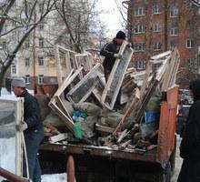 Вывоз строительного мусора, хлама,веток,колючек.Грузопереевозки,переезды,чистые авто.Без выходных - Вывоз мусора в Севастополе