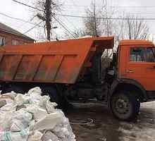 Вывоз строительного мусора, грунта, хлама. Газель, Зил, Камаз.Без выходных - Вывоз мусора в Севастополе