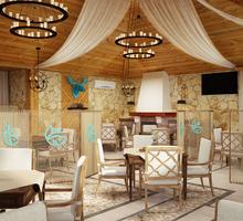Дизайн-проект интерьера ресторана. Скидки на большие площади. -15% в праздники. Бесплатн.консултация - Дизайн интерьеров в Симферополе