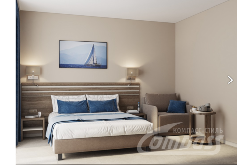 Мебель для гостиниц, отелей класса Стандарт. От производителя, мебельной фабрики Компасс-Стиль - Специальная мебель в Алуште