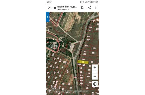 Продам  видовой участок  17 соток ЗАО С. Перовской - Участки в Севастополе