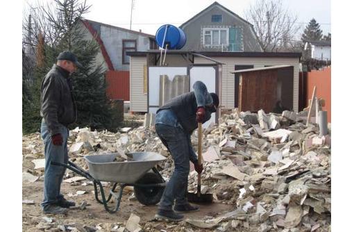 Вывоз строительного мусора,ненужного хлама из гаражей,подвалов,чердаков.Контейнер.ГАЗель,Зил,КамАЗ - Вывоз мусора в Севастополе