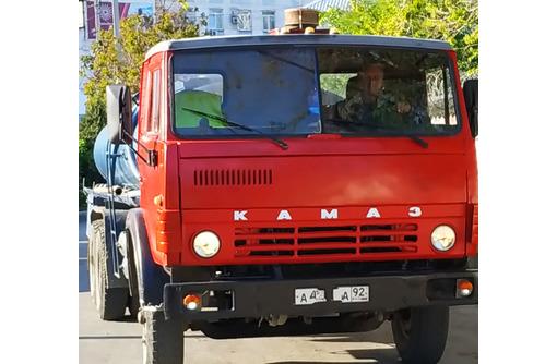 Доставка воды водовозом 10м3 - Грузовые перевозки в Севастополе