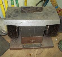 станок для чиски обуви производство СССР щетки конский волос - Продажа в Крыму