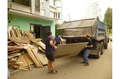 Вывоз мусора, хлама из подвалов и чердаков, Камаз, Зил, Газель, услуги грузчиков. 24/7 - Вывоз мусора в Севастополе