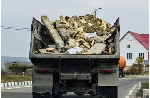 Вывоз строительного мусора , грунта, хлама. Демонтажные работы. Разнорабочие. - Вывоз мусора в Севастополе