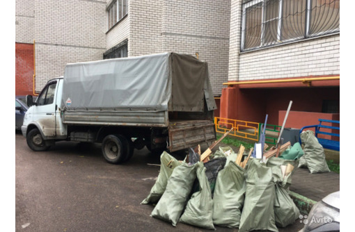 Вывоз строительного Мусора, грунта, хлама. Любые объёмы!!! Газель, Зил, Камаз - Вывоз мусора в Севастополе