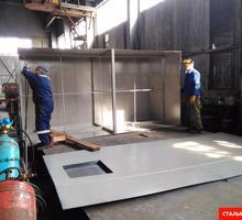 Ёмкости, резервуары и цистерны из стали - Металлические конструкции в Севастополе