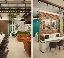 Дизайн-проект интерьера офиса. Скидки на большие площади, на праздники 15%., при повторном обращении - Дизайн интерьеров в Ялте