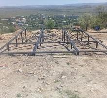 Монтаж свайного фундамента на любом грунте и перепаде высот!!! - Строительные работы в Бахчисарае