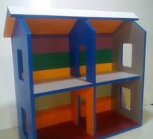 Домик для кукол или гараж для машинок. - Детская мебель в Симферополе