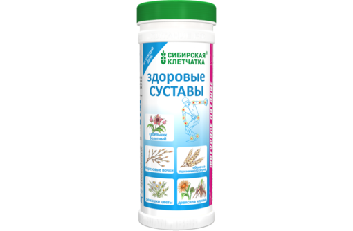 Сибирская клетчатка «Здоровые суставы» - 170 г, фото — «Реклама Севастополя»