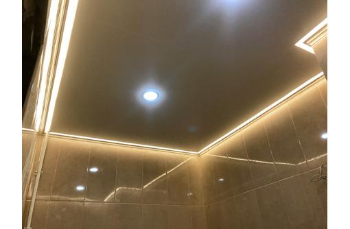 Натяжные потолки контурные световые линии LuxeDesign - Натяжные потолки в Саках