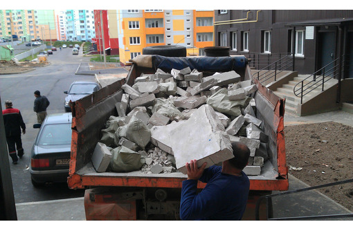 Вывоз строительного мусора, хлама, грунта. Демонтажные работы. Любые объёмы!!! - Вывоз мусора в Феодосии