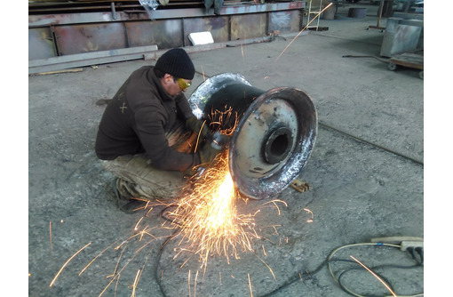 Рубка до 28 мм, гибка до 10 мм, сварка уголка швеллера и проката. - Металлические конструкции в Севастополе