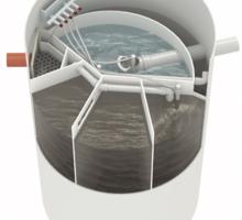 Септик премиум класса AUGUST АТ-6 6-го поколения - Сантехника, канализация, водопровод в Евпатории