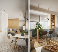 Дизайн-проект интерьера квартиры. Скидки подбираются индивидуально. Скидки на большие площади - Дизайн интерьеров в Севастополе