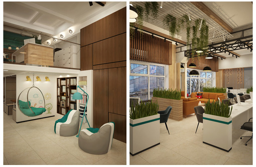 Дизайн-проект интерьера офиса. Скидки на большие площади, на праздники 15%., при повторном обращении - Дизайн интерьеров в Севастополе