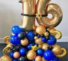 Цифры из фольги на день рождение - Свадьбы, торжества в Севастополе