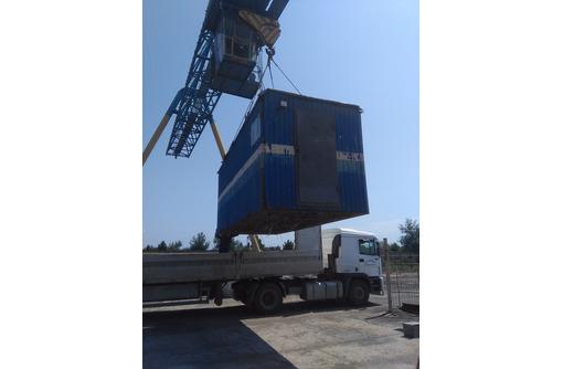 Хранение контейнеров, блок контейнеров и бытовок. - Металлические конструкции в Севастополе