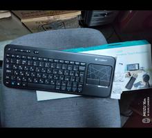 Клавиатура для ТВ Logitech Wireless Touch Keyboard K400 - Аксессуары в Севастополе