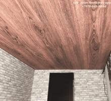 Wood design  натяжные потолки эффект дерева LuxeDesign - Натяжные потолки в Крыму