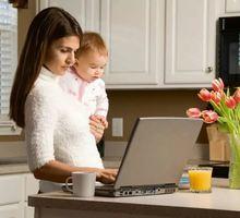 Вакансия для мам в декрете. Подработкa - Работа на дому в Феодосии