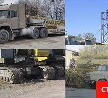 Аренда монтажных кранов гп 25 - 40 тонн. Доставка на строительный объект - Строительные работы в Севастополе