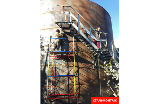 Изотовляем силосы, бункеры, резервуары, цистерны, баки из стали. - Строительные работы в Севастополе