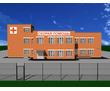 Проект сейсмостойкой подстанции скорой медицинской помощи с гаражом на 10 машиномест, фото — «Реклама Севастополя»