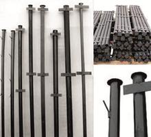 Столбы металлические для забора оптом и в розницу с доставкой - Металлы, металлопрокат в Бахчисарае